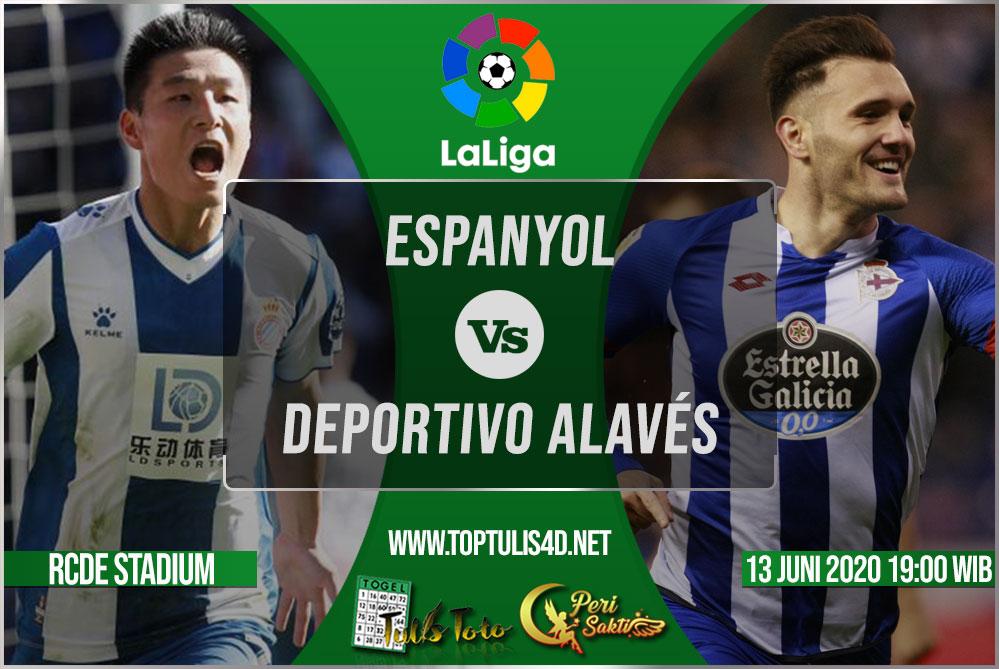 Prediksi Espanyol vs Deportivo Alavés 13 Juni 2020