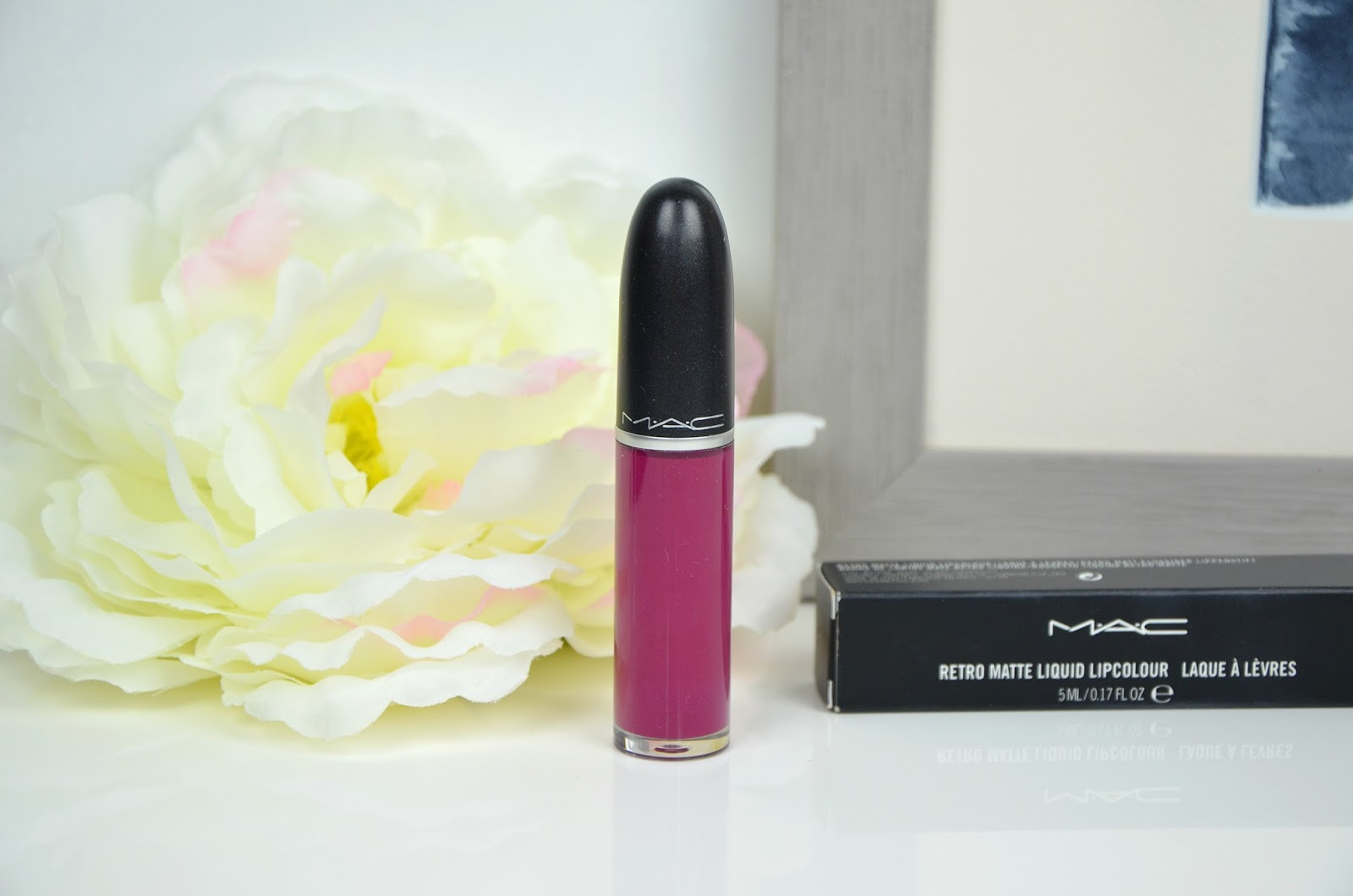 Oh, Lady Retro matte liquid lipcolour MAC