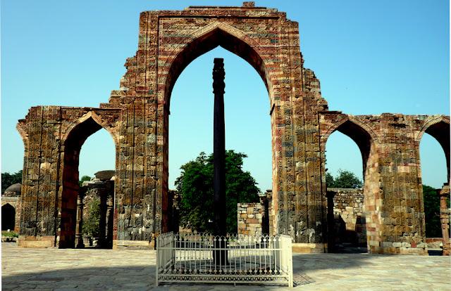 La misteriosa columna de hierro que no se oxida