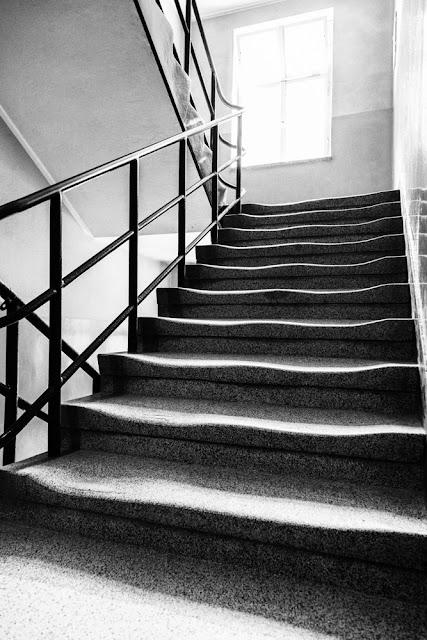 scala consumata stairs campi di concentramento di Auschwitz resti umani cenere umana ossa dead bone