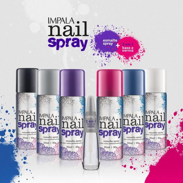 Voc chic e bonita esmalte em spray cole o nova da impala for Esmalte para baneras en spray