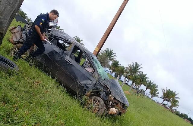 Tragédia! Advogada Daniele Pontes de Almeida morre em capotamento durante acidente na RO 010