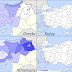 Greeks and Armenians in Anatolia & Thrace (1914 vs. Today)