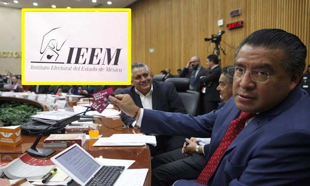 Morena va por consejeros del IEEM por adelantar entrega de constancia de mayoría a Del Mazo