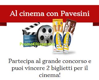 Logo Pavesini ti fa vincere 250 coppie di biglietti Cinema