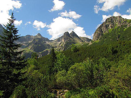 Dolina Zielona Kieżmarska.