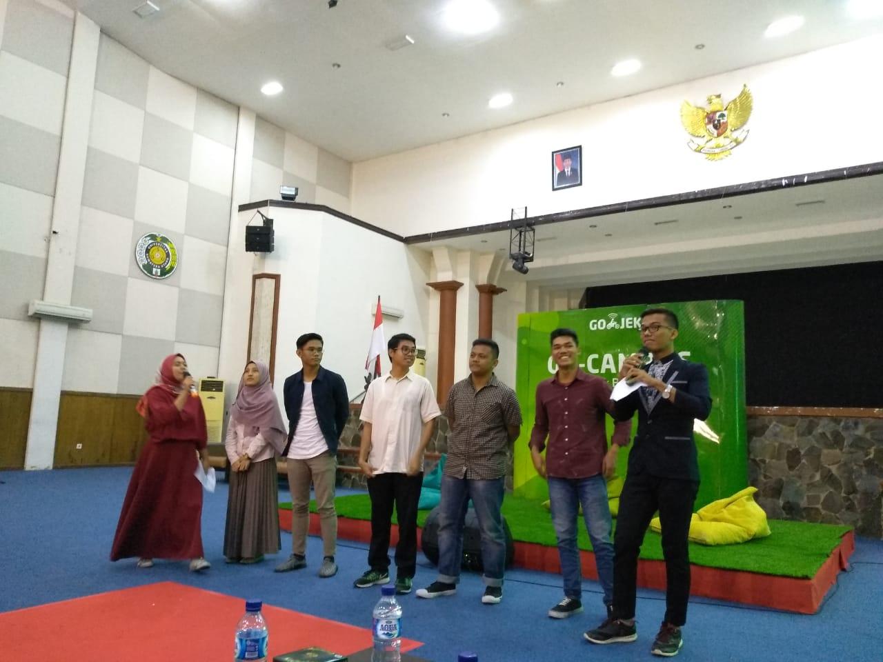GOJEK gelar kegiatan GO-CAMPUS perdana di Universitas Sumatera Utara