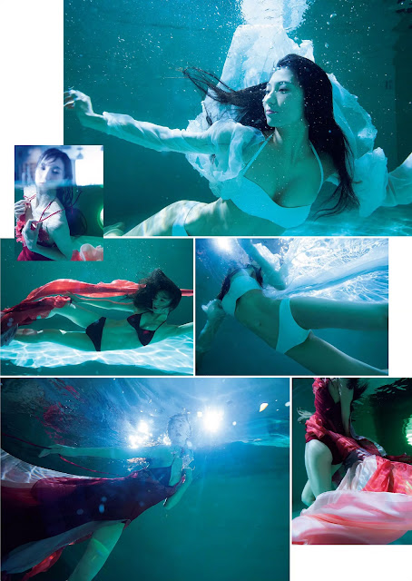 南千紗登 Minami Chisato Perfect Mermaid Queen Images 2