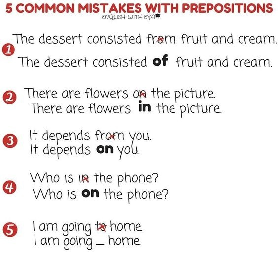 how to avoid grammatical mistakes in english