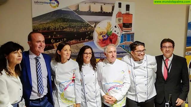 La gastronomía palmera sobresale en Madrid en el marco de la gala de Saborea España