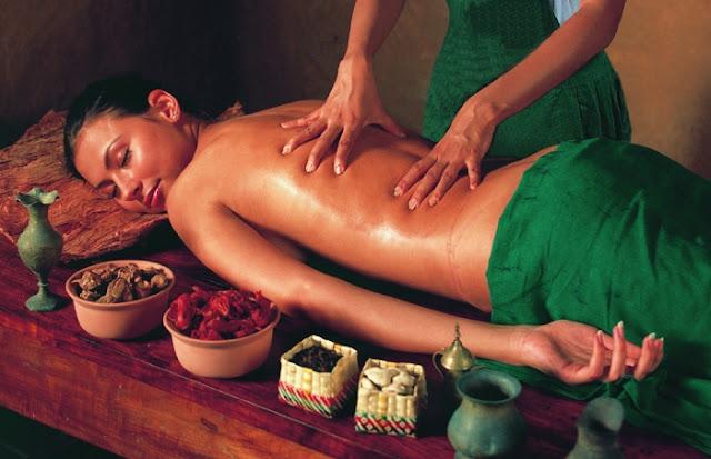full body panchakarma massage