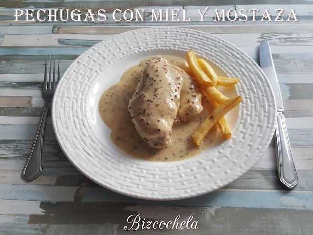 PECHUGAS CON MIEL Y MOSTAZA