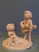 piccole sculture fatte a mano tratte da cartoni animati da colorare idea regalo sposi orme magiche