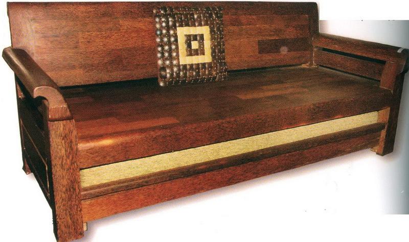 Furniture Dari Kayu Kelapa