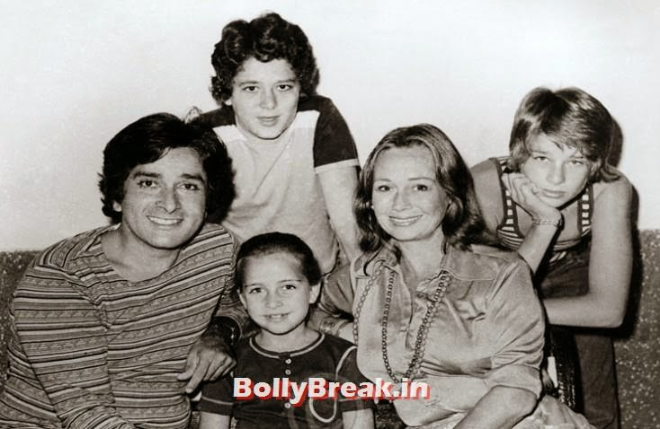 Shashi Kapoor married Jennifer Kendall, they had three kids: Kunal, Karan and Sanjana, Kapoor Family Pics, Kapoor Family Chain, Origin, Caste, Family Tree - Nanda, Jain