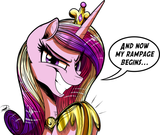 Who in the hoof is Princess Mi Amore Cadenza?