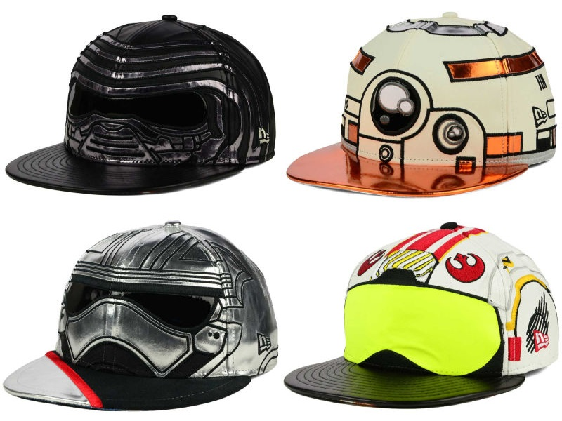 Star Wars The Force Awakens Big Face 59Fifty Fitted Hat Collection By New Era