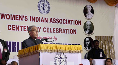 President Pranab Mukherjee calls for reservation for women in Parliament