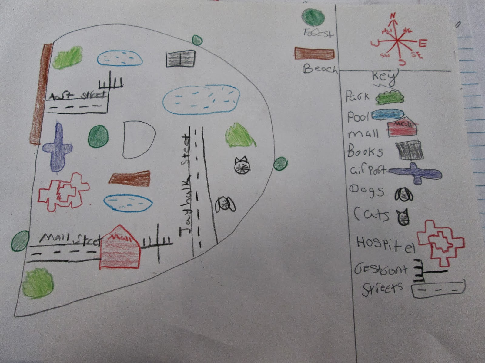 Adventures In Third Grade Student Made Community Maps