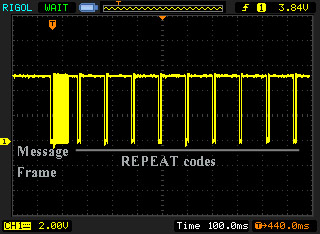 Embedded Engineering : NEC Protocol IR (Infrared) Remote