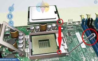 cara memasang komponen komputer