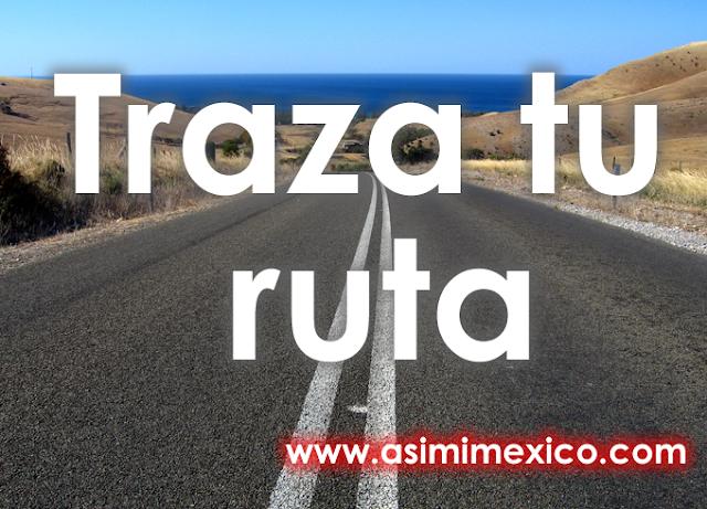 Traza tu ruta Punto a punto en Guanajuato Mappir