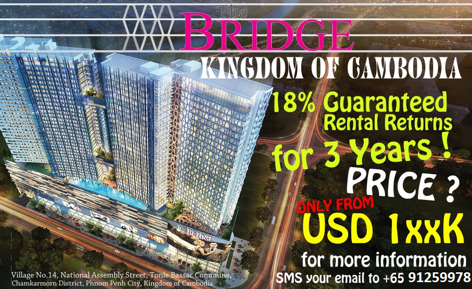 Cambodia Phnom Penh Property Talk - How to multiply your wealth with only S$1260?