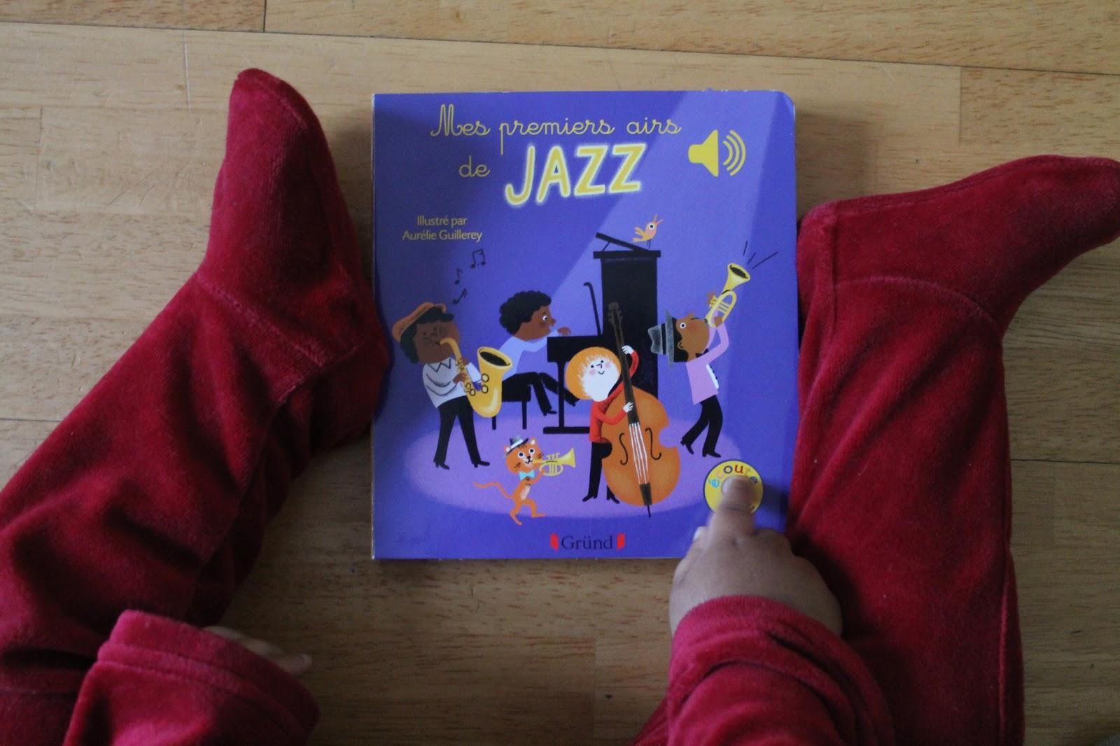 Livre Sonore Pour Bebe Mes Premiers Airs De Jazz