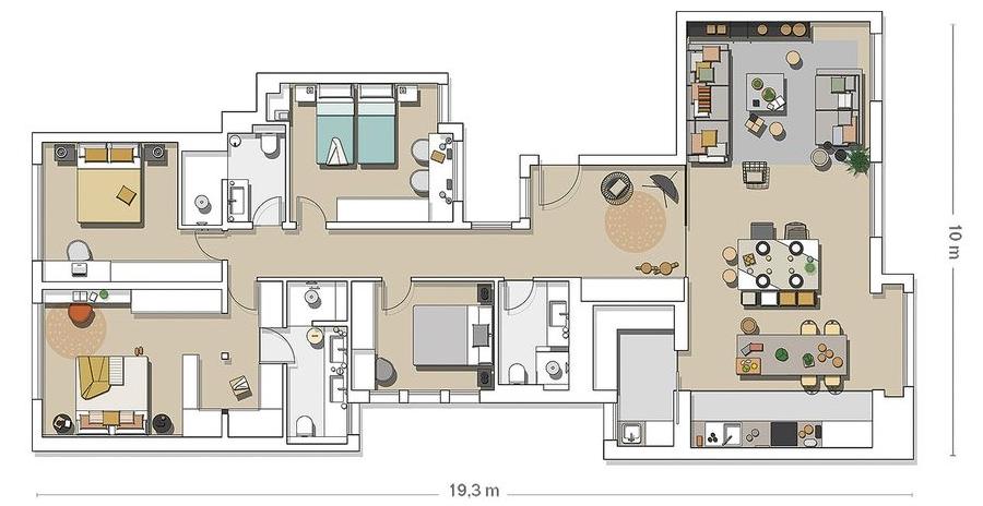 Industrialne elementy w stonowanym wnętrzu, wystrój wnętrz, wnętrza, urządzanie domu, dekoracje wnętrz, aranżacja wnętrz, inspiracje wnętrz,interior design , dom i wnętrze, aranżacja mieszkania, modne wnętrza, styl industrialny, styl loftowy, loft, stonowane kolory, naturalne dodatki, czarne dodatki, plan mieszkania