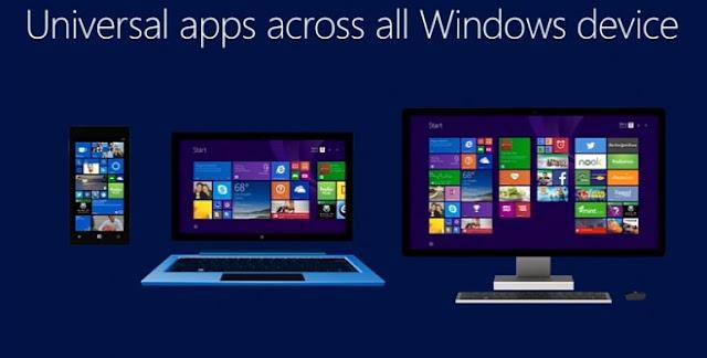 Universal apps windows 10