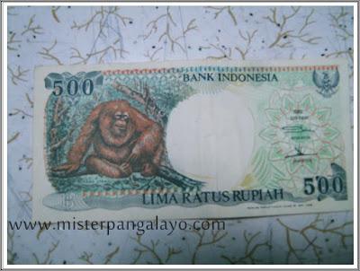 Uang kertas pecahan 500 IDR, tahun 1992