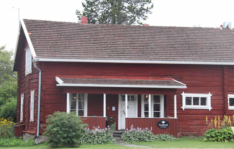 Teahousen päärakennus
