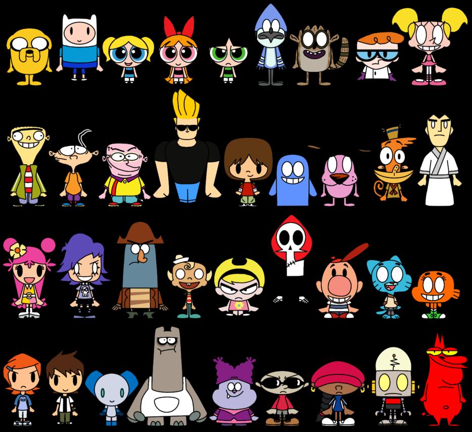 Cartoon Character Names With B: Cartoon Network Characters