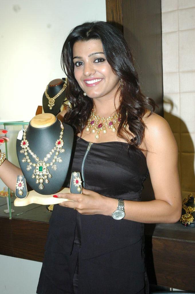 Sparkling ornamental tashu kaushik launch hiya designer jewellery hot stills photos