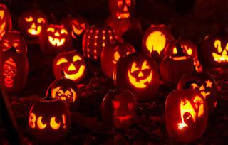 резная тыква на хэллоуин под заказ