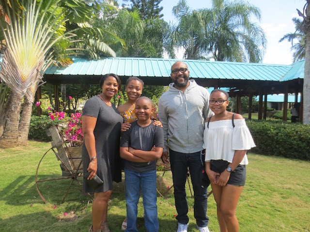 Family photo spring break Dreams La Romana