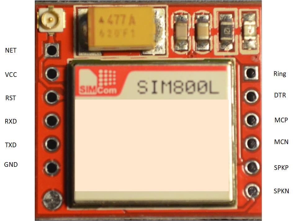 SIM800L interface | EASY MX Pro V7 for STM32 ARM