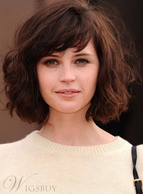 Enchanting Bob Wave 100% Human Hair Wig 10 Inches-Price:USD$126.71