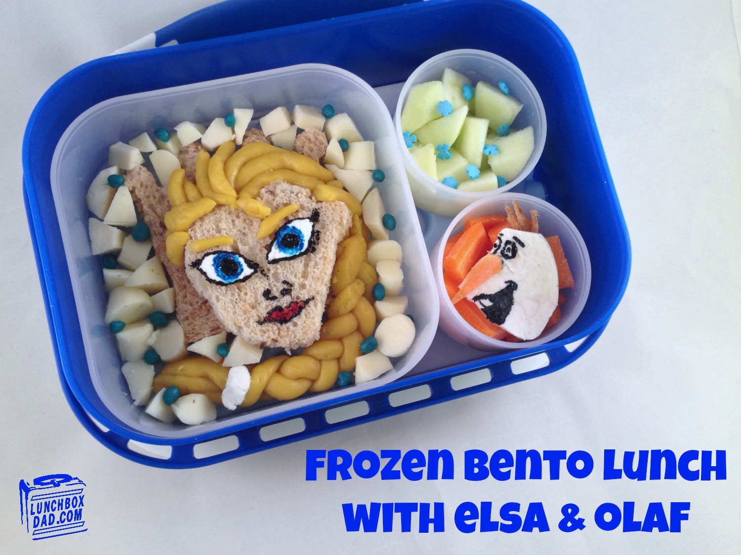 Frozen Elsa and Olaf Lunch