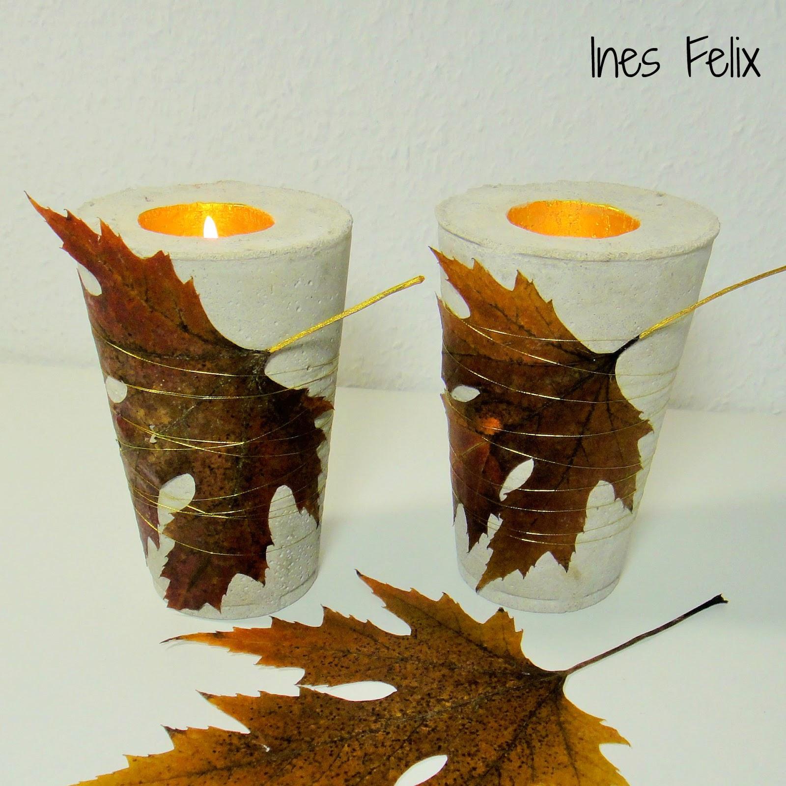 Ehrfürchtig Beton Teelicht Design