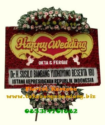 Karangan Bunga Pernikahan Terbaik Kota Bandung
