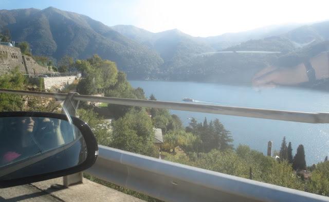 Autofahrt am Comer See