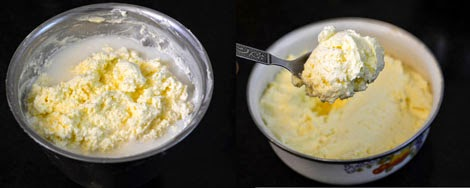 how to make butter at home from milk cream