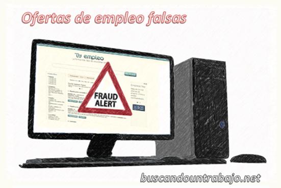 924f976f523 Las ofertas de empleo falsas  Cómo detectarlas y denunciarlas ...