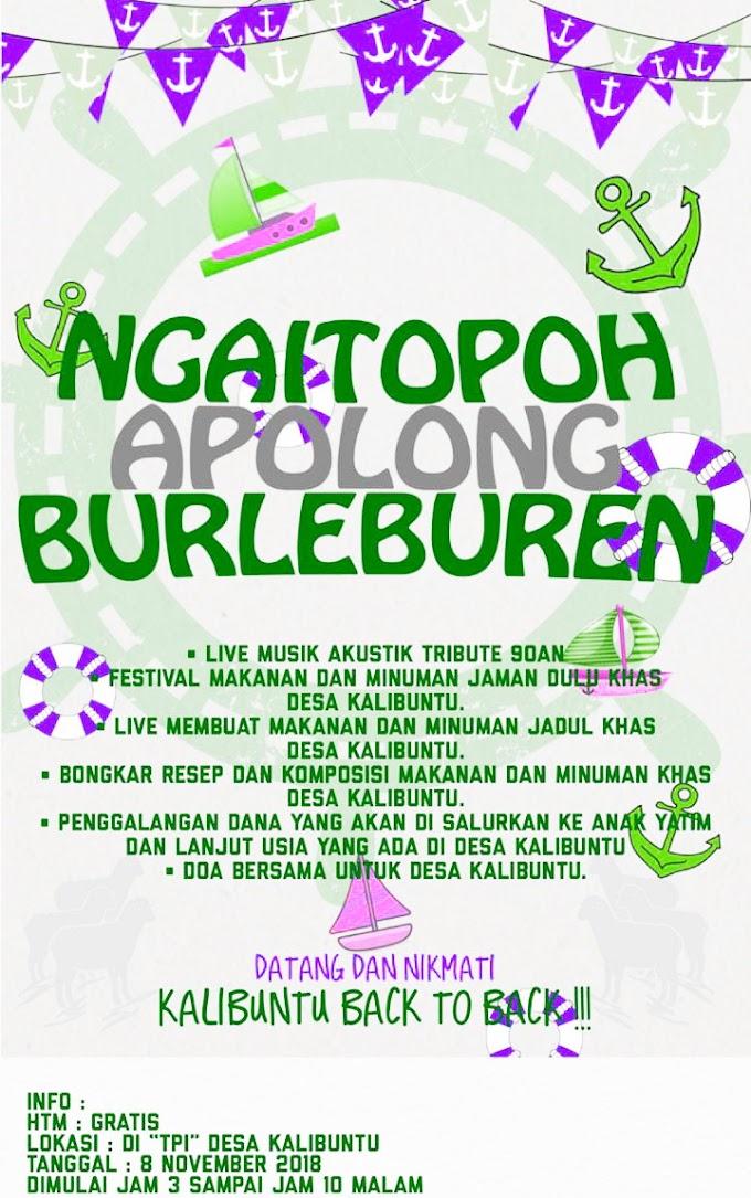 Hiburan Ngaitopoh Apolong Burleburen [Free]