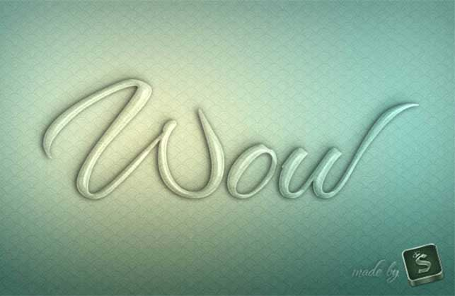Create a Glass Text Effect in Photoshop Using Layer Styles @ Webdesignerpad