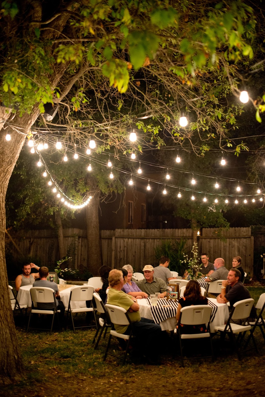 domestic fashionista backyard birthday party for the guy