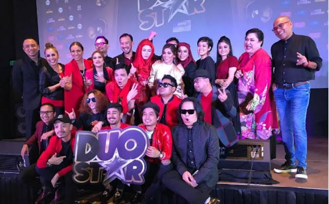 Duo Star Program Hiburan Baru Menampilkan Lapan Pasangan Penyanyi Profesional