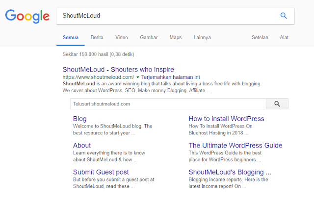 Sitelink situs ShoutMeLoud
