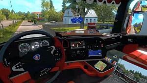 Scania Streamline interior mod by furkan61
